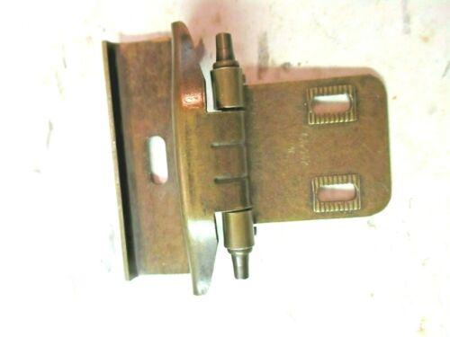 "Amerock 60332 Cabinet Door Wrap Hinge Self Close 1//2/"" O/'lay Dark Brass 1 Vintage"