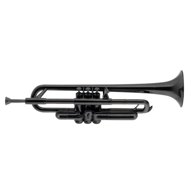 pTrumpet Plastic Bb Trumpet in Black BRAND NEW