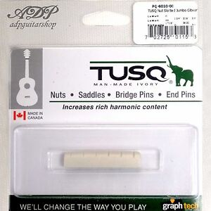 Sillet-Graph-Tech-Tusq-PQ-6010-00-Slotted-nut-36-44-Gibson-LesPaul-SG-Pack