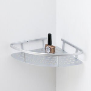 50kg-Wall-Corner-Shelf-Aluminum-Alloy-Frame-Wall-Shelf-Storage-Bathroom-Storage