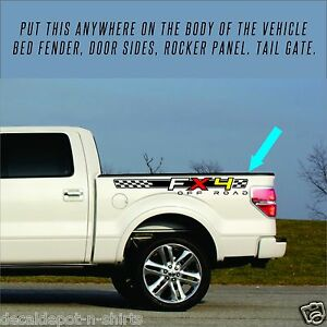 2007-2018-Ford-F150-FX2-or-FX4-SPORT-Decals-F-OFFROAD-Stickers-Truck-4x4-NEW