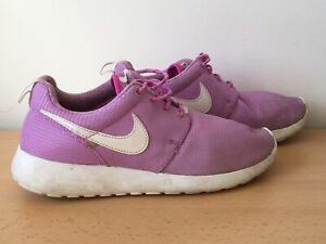Nike Junior Girls Lilac Trainers Size 5