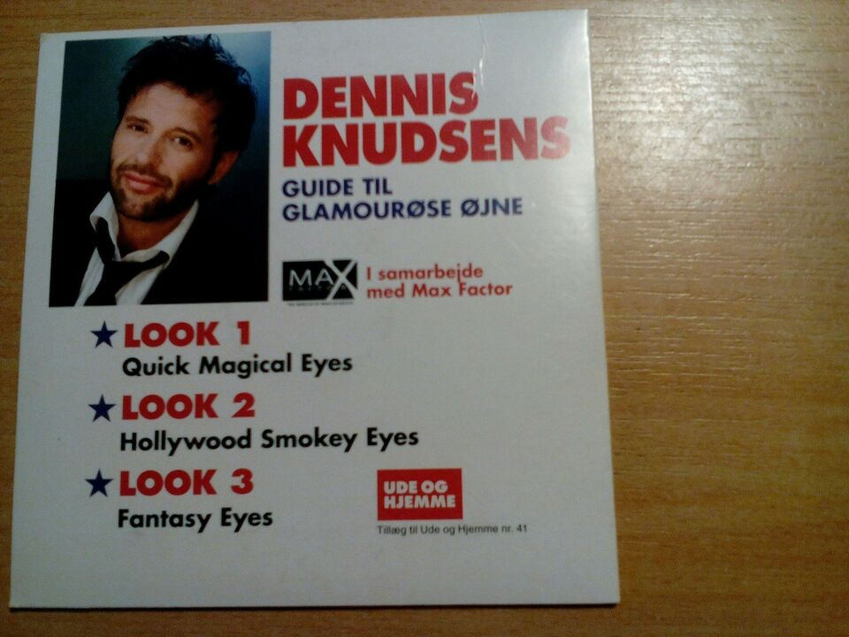 Dennis knudsen /guide til Glamourøse øjne, til pc, anden