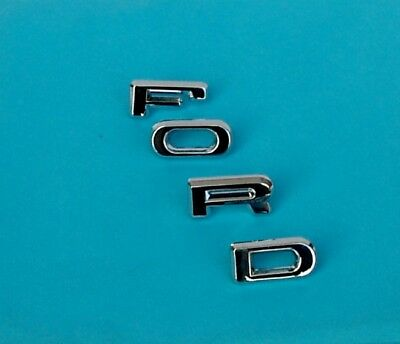 "Ford Escort Mk 2 Badge Rs2000 Etc "" F.o.r.d."" Capri Mk 2 Car Badges New Grade Products According To Quality"