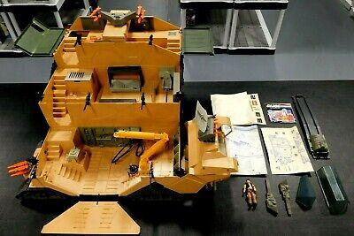 Gi Joe Mobile Command Center 1987 Hasbro W Steam Roller Ebay