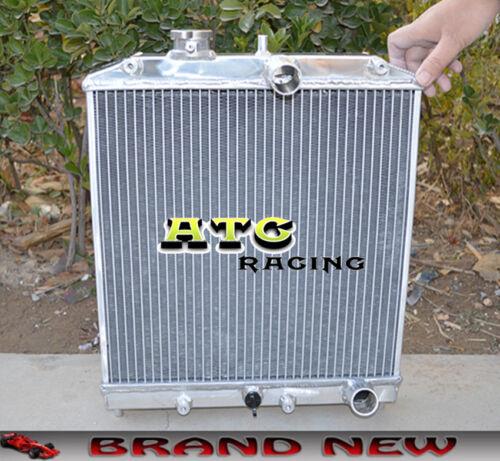 3row 52mm Aluminum Radiator 92-00 Honda Civic EK EG D15 D16 B16 B18 FAN Shroud