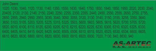 T-1568 Öldruckschalter John Deere Serie 40  OEM AR27977