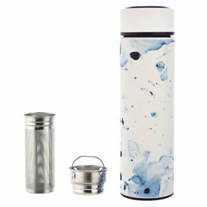 GROSCHE-CHICAGO-White-Marble-Loose-Leaf-Tea-Fruit-Infuser-Bottle-15-2-fl-Oz