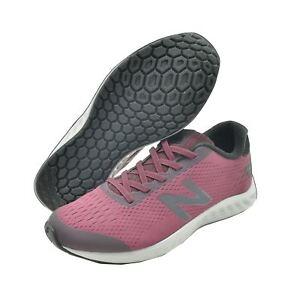 New Balance WIDE Fresh Foam Arishi Burgundy Big Kids Women Shoes  323ad14cf