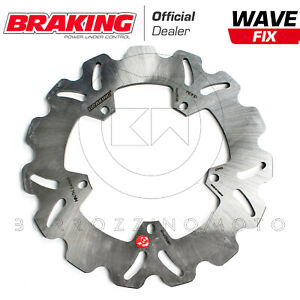 BRAKING DISCO FRENO WAVE ANTERIORE PER LML STAR 4T 200 2010 2011
