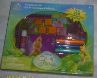 2007 Disney Store - Disney's Fairies Tinkerbell Scrapbook Kit (250+ Supplies