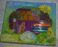 2007 Disney Store - Disney's Fairies Tinkerbell Scrapbook Kit (250+ Supplies