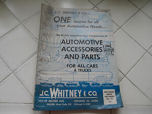 Details about 65 J C  Whitney Automotive Parts & Accessories Catalog No   220 with 240 Pages