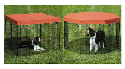Exercise Pen Covers for Dogs & Pets - Extra Tough Cover for Dog Animal Ex Pens