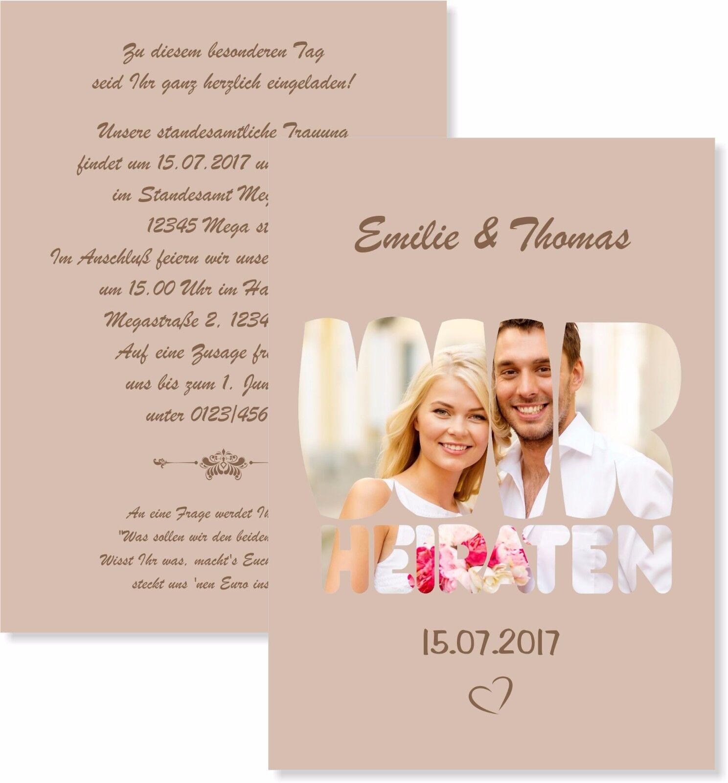 Einladungskarten Zur Hochzeit Hochzeitseinladungen Einladung Elegant