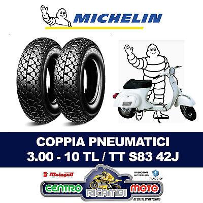 T5 Ape Coppia Gomme Pneumatici Con Coppia Di Camera daria Vee Rubber 3.50 x 10 Piaggio Vespa Px Cosa
