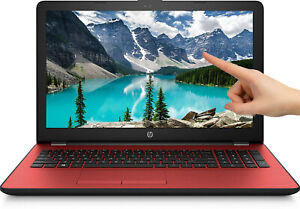 NEW-HP-15-6-034-Touch-Screen-RED-Intel-Pentium-Gold-2-3GHz-DVD-RW-500GB-Webcam-Mic