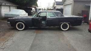 FOR SALE - 1962 Lincoln Continental (2 of them)