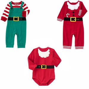 519e75e86 Image is loading Gymboree-Baby-Boy-Holiday-Christmas-Santa-Elf-Snowman-