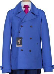 Hombre-Gabicci-NUEVO-azul-cobalto-Abrigo-Chaqueta-039-Reefer-039-Estilo-S-M-L-Xl-Xxl