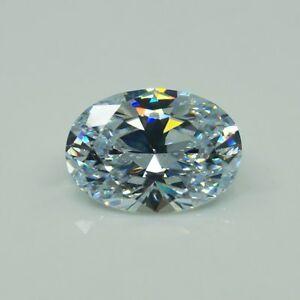 White-Zircon-50-02ct-18x25mm-Oval-Faceted-Cut-Shape-VVS-AAAAA-Loose-Gemstone