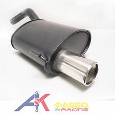 ASSO Racing Sportauspuff Endschalldämpfer 90mm ALFA Romeo 147 2001>2010