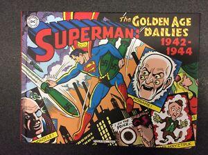 SUPERMAN-le-strisce-della-Golden-Age-1942-1944-cartonato-Cosmo-editoriale