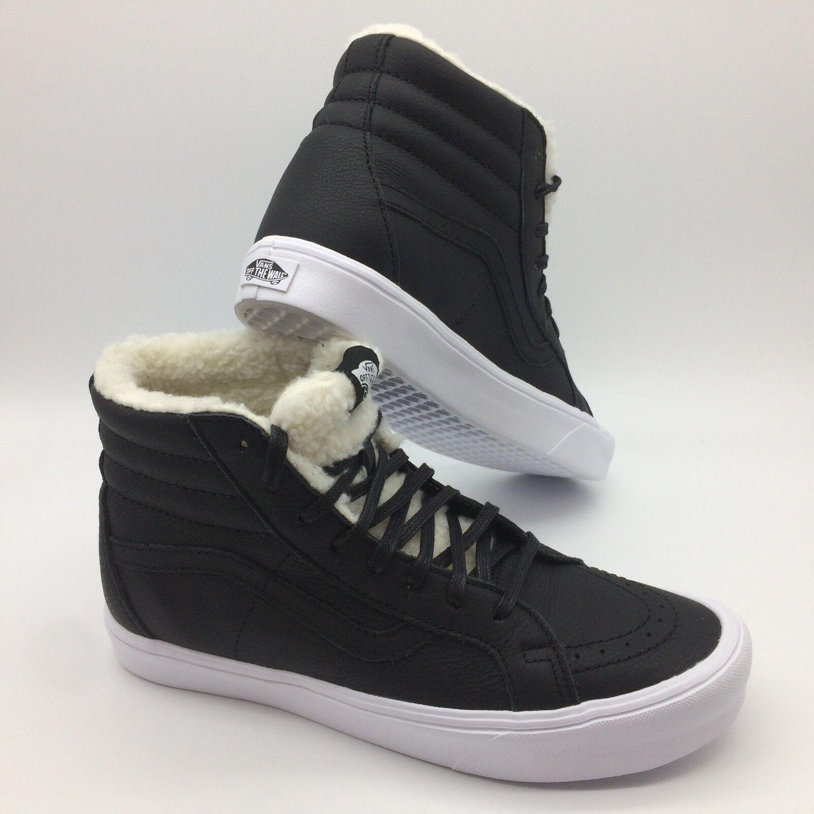 Vans Herren Schuhe   Sk8-Hi Neuauflage Neuauflage Neuauflage Li '' Sherpa) Schwarz Weiß  2f0324