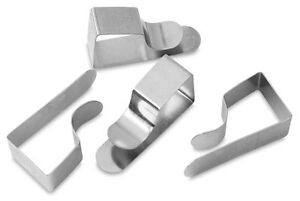 Drawing-Board-Clips-Paper-Holder-Steel-Draftsman-Clamp-Chrome-Plate-MADE-IN-UK