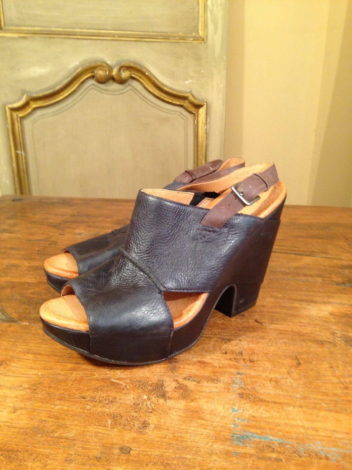 Christy Stewart Naya  Monroe  Sling Back Platform damen Sandals schuhe Größe 8