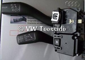 Genuine Audi A3 8V 2013 Onwards Retrofit Cruise Control Kit Stalk /& Lower Trim