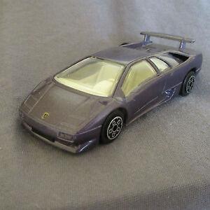 4e Burago 4141 Lamborghini Diablo Violet 1 43 Ebay