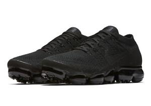 nike air max vapormax flyknit triple black