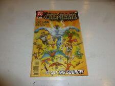 GENESIS Comic - No 4 - Date 10/1997 - DC Comics