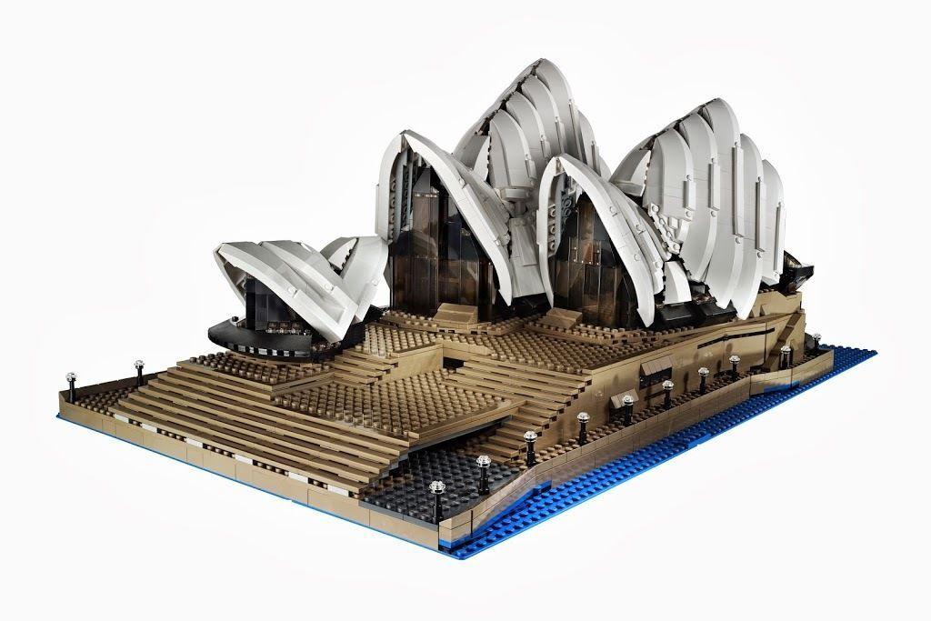 LEGO® Creator 10234 Sydney Opera Opera Opera House™ Expert Exklusives Set NEU OVP NEW MISB 802e0d