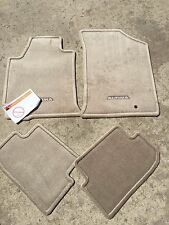 item 3 NEW OEM 2009-2013 NISSAN ALTIMA COUPE BEIGE/TAN 4PC CARPET FLOOR MAT SET -NEW OEM 2009-2013 NISSAN ALTIMA COUPE BEIGE/TAN 4PC CARPET FLOOR MAT SET