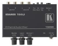 Kramer 102mx 2 Channel Stereo Audio Mixer