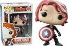 Funko Avengers 2 Age of Ultron - Black Widow With Shield Pop Vinyl Figure