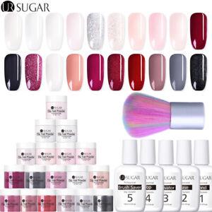 UR-azucar-30ml-Nail-art-sistema-de-inmersion-en-polvo-liquido-no-necesita-UV-Dip-Negro