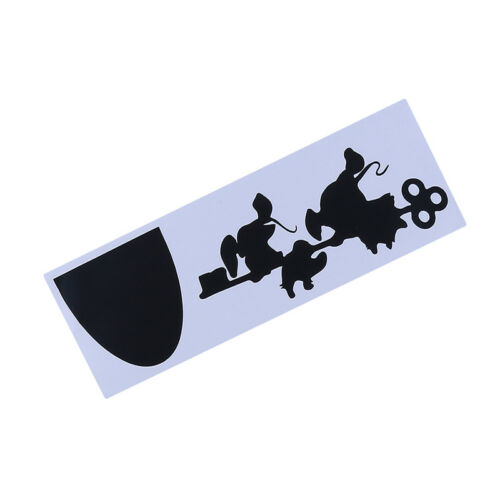 Mouse Hole Wall Art Sticker Artist Vinyl Decal Mice Home Skirting Board Funny G