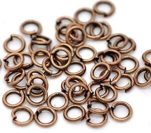 bracelet 100 Anneaux de jonction Argenté 3 mm ouvert 3mm creation bijoux ...