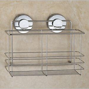 Das Bild Wird Geladen Badezimmerkorb  Duschkorb Badezimmer Ablage Badezimmerablage Duschablage Saugnapf