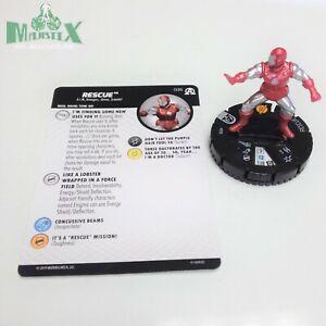 Heroclix-Avengers-Black-Panther-amp-Illuminati-set-Rescue-035-Rare-fig-w-card