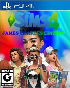 Details about Sims 4: James Charles Edition *PROP NOT A REAL GAME* CUSTOM  MADE GAME