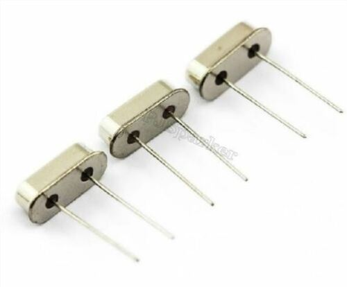 20Pcs 14.318MHZ 14.318MHZ 14.318M Hz HC-49S Crystal Oscillator New Ic ri