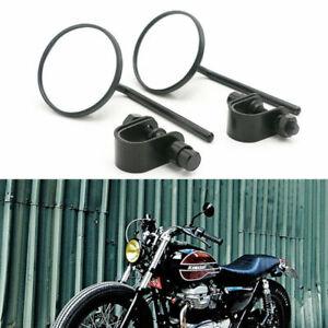 Moto-7-8-039-039-1-039-039-Guidon-Serrer-Retroviseurs-Pour-Honda-Yamaha-Kawasaki-Suzuki-BMW