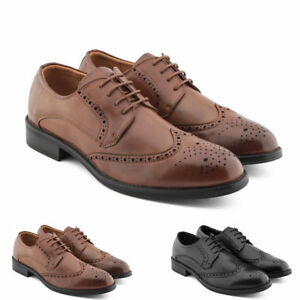 Stringate Francesine Derby Uomo Gianni Scarpe Mocassini Shoes LSRj34Ac5q