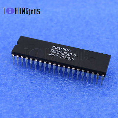 1PCS TMP8085AP-2 8085,TMP8085AP TOSHIBA MICROPROCESSOR 40PINS IC