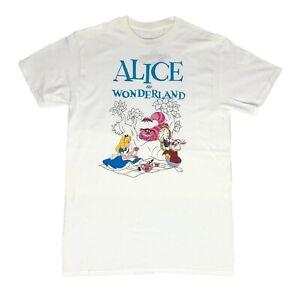 Disney-Alice-in-Wonderland-Movie-Characters-Disneyland-Mens-T-Shirt-S-XL