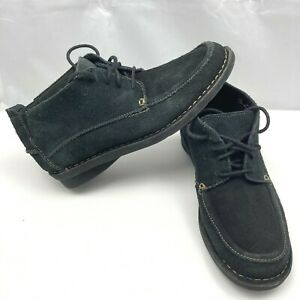 Clarks-Bendables-62998-Casual-Black-Suede-Chukka-Boots-Men-Size-8-5M